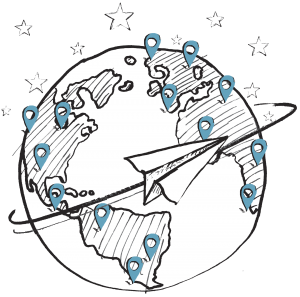WSI Global World Icon Image