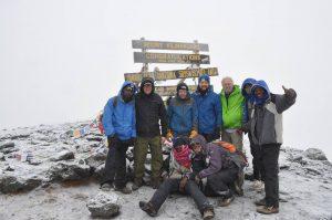 WSI Team MCPH Kilimanjaro Climb Image