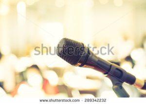 WSI Stock Photo Microphone