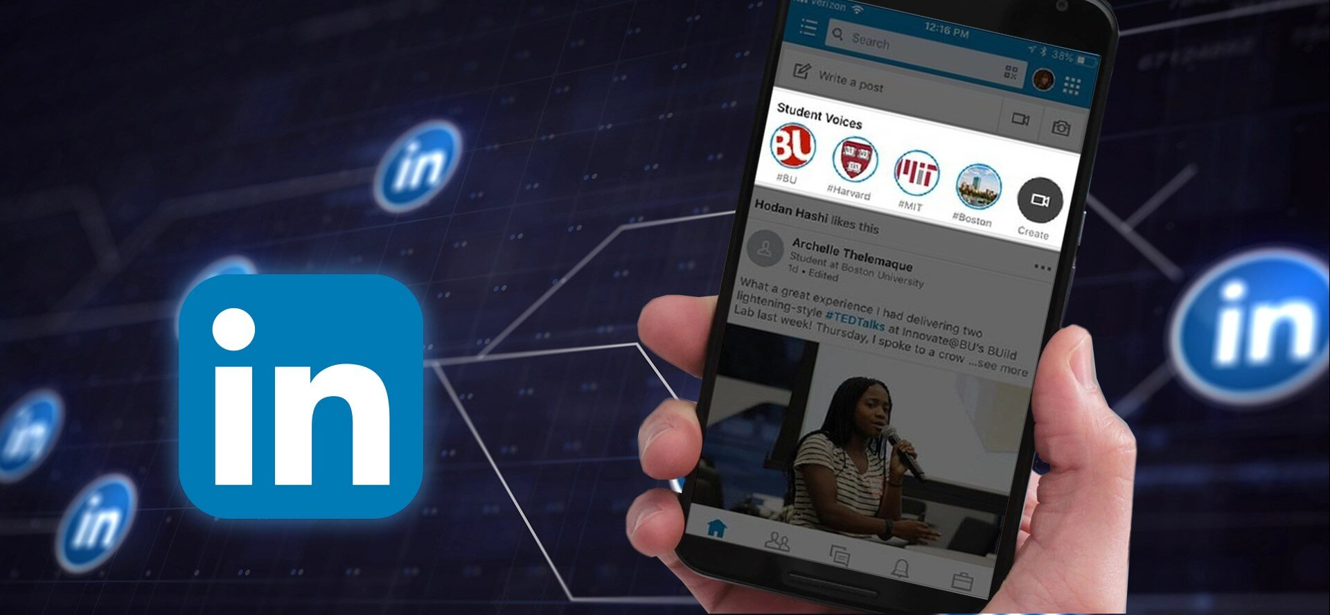 Las Stories de LinkedIn comienzan a estar disponibles